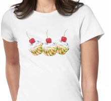 Cupcakes2 Womens Fitted T-Shirt