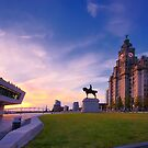 Royal Liver building Liverpool by Michael Walsh