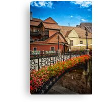 The Iron bridge Canvas Print