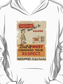 Radiation 1950 poster vintage T-Shirt