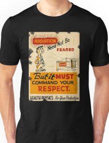 Radiation 1950 poster vintage Unisex T-Shirt