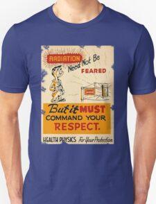Radiation 1950 poster vintage T-Shirt