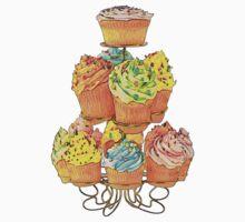 Cupcakes by Miraart