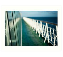 The Sun Deck Art Print
