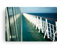 The Sun Deck Canvas Print