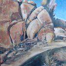 Desert Rocks by John Fish