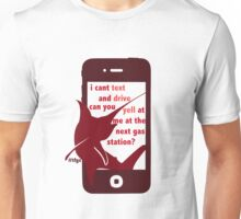 Seijuro || Can't Text Unisex T-Shirt