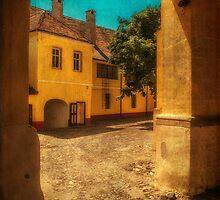 Yellow house by Dobromir Dobrinov
