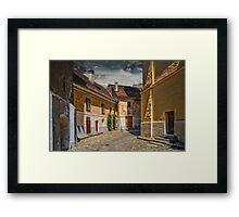 Old street Framed Print