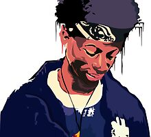 Joey Badass Illustration - Original Print - benmcArts by Ben McCarthy