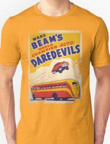 Dare devil Autos 1950 s poster t-shirt vintage T-Shirt