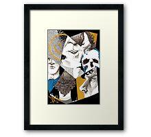 Sherlock - Impressions Framed Print