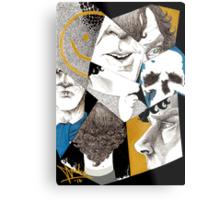 Sherlock - Impressions Metal Print
