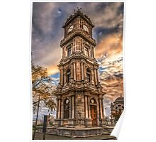 Dolmabahce Palace Clock Tower Poster