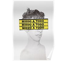 Miedo a todo in your face Poster