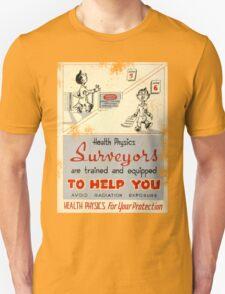 Health Physics 1950's t-shirt vintage  T-Shirt