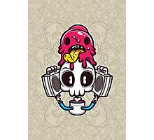 Skull Candy Cartoon Character Photographic Print