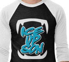 Ice up Son - Cat Men's Baseball ¾ T-Shirt