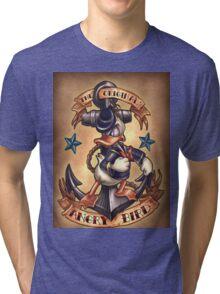 Donald duck  Tri-blend T-Shirt