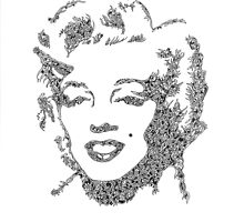 Marilyn Monroe  by BisleyDoo