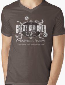 Old Ones Cafe Mens V-Neck T-Shirt