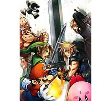Cloud Smash 4 Photographic Print