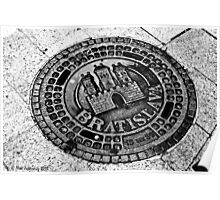 Manhole cover Poster