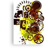 24/7/365 Canvas Print