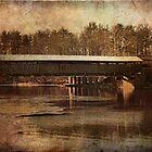 Perrines Covered Bridge 2 by PineSinger