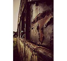 The Bus Graveyard Photographic Print