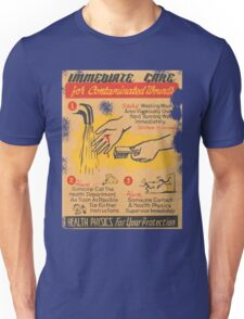 immediate care contaminated 1950's t-shirt Unisex T-Shirt