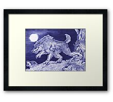 Werewolf pack 1 Framed Print