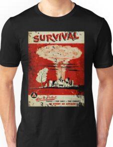 Survival nuclear 1950's Vintage T-shirt Unisex T-Shirt