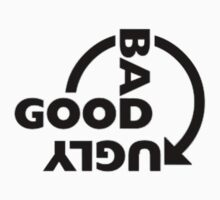 GOOD BAD UGLY version#1 by thatstickerguy