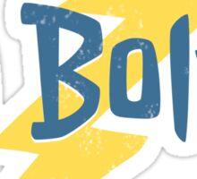 Go Bolts! Sticker