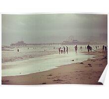 Sunday at Venice Beach - Stroll to Santa Monica Poster