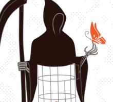 Death Renews Life Sticker