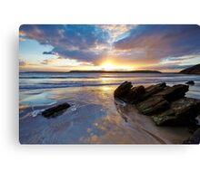 White Bay Canvas Print