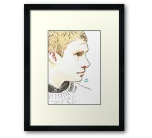 I was a soldier Framed Print