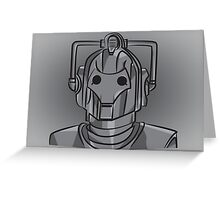 Cyberman Greeting Card