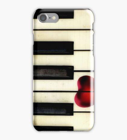 Piano Heart iPhone iPhone Case/Skin