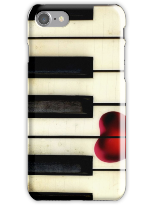 Piano Heart iPhone by SuddenJim