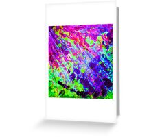 object Color Greeting Card