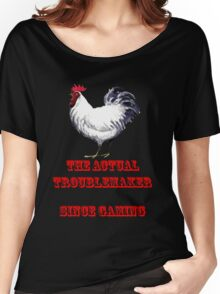 The Actual Troublemaker Since Gaming Women's Relaxed Fit T-Shirt