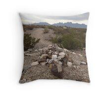 Turtle Rock Trail Throw Pillow