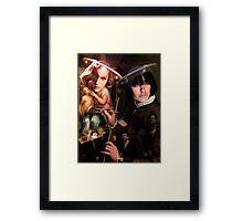 Canvas Pimp. Framed Print