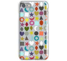 geo garland silver iPhone Case/Skin
