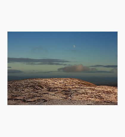 Moon Over Brown's Hill Photographic Print