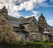 Medieval Post Office, Tintagel, Cornwall. UK by Heidi Stewart