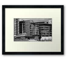 Grain Boats And The BBC. Framed Print